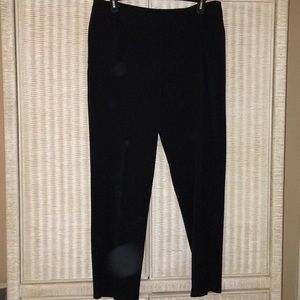 Women's black Investments pants size 18R